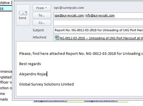 Email Report - Office 2010